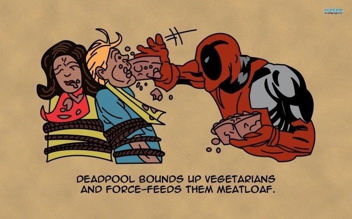 deadpool. . BELINDA LIP ? ANO THEM .. the original if anyone wants it stares at batmanisarabbit Deadpool DC