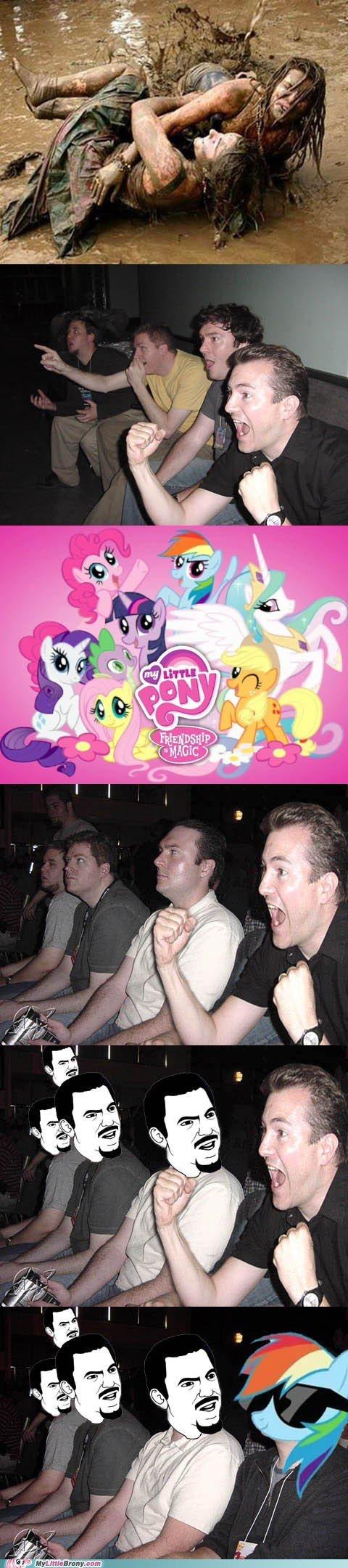Deal With It. .. MFW Ponies Deal With It MFW Ponies