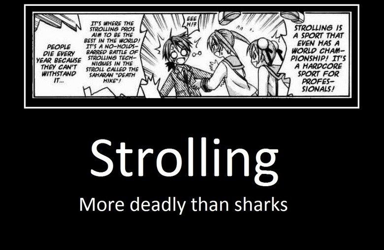 "DEATHstroll. Mahou Sensei Negima! 13:6. LIE] RE THE 9551' TI THE WORLD! momma new -- i' FEM' murmer TI mg firstr"" tollin' ngii; dsv/ lore deadly than sharks Negima death stolling Shark"