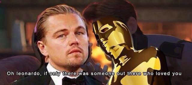 Decaprio just can't get it. . fir fl mine