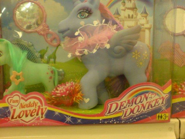 Demon Donkey. .. OH GOD KILL IT BEFORE IT LAYS EGGS! Demon Donkey OH GOD KILL IT BEFORE LAYS EGGS!