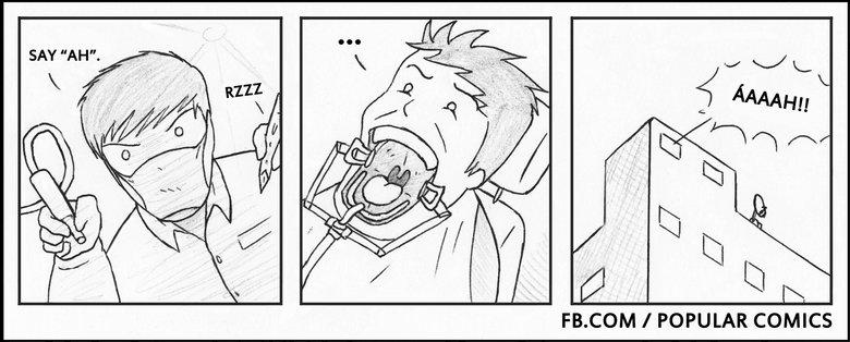 dentist. . COM I POPULAR COMICS dentist COM I POPULAR COMICS