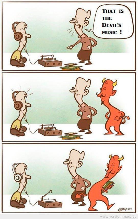 Devil's music. .. MAGIC HEADPHONES Devil's music MAGIC HEADPHONES