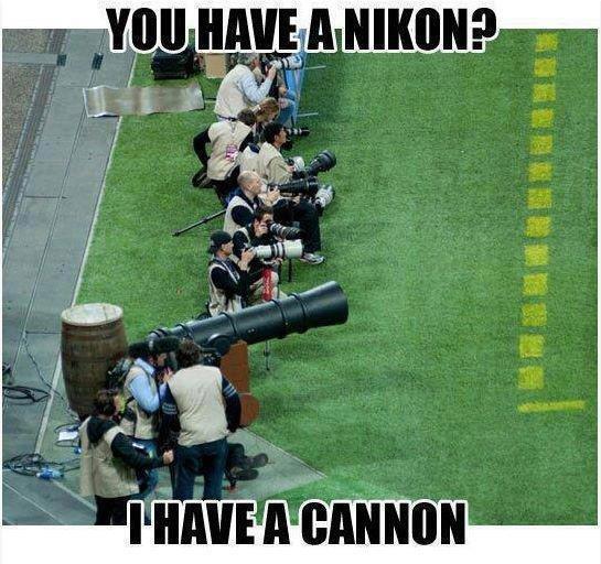 Did he got it?. 4chan!!. nikon Cannon