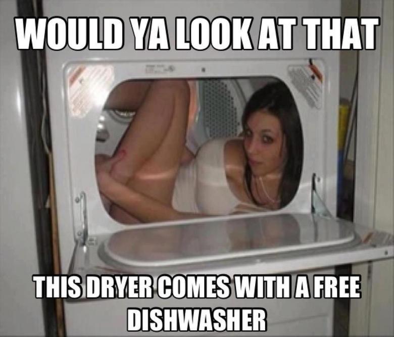 Dishwasher. Not mine. VA ( AT TIMI I we l} ITMES cxllml A FREE DISHWASHER. Turn it on Dishwasher Not mine VA ( AT TIMI I we l} ITMES cxllml A FREE DISHWASHER Turn it on