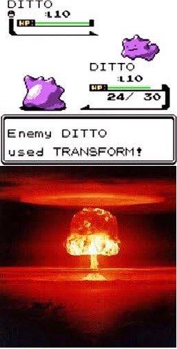 Ditto vs. Ditto. . ditto vs
