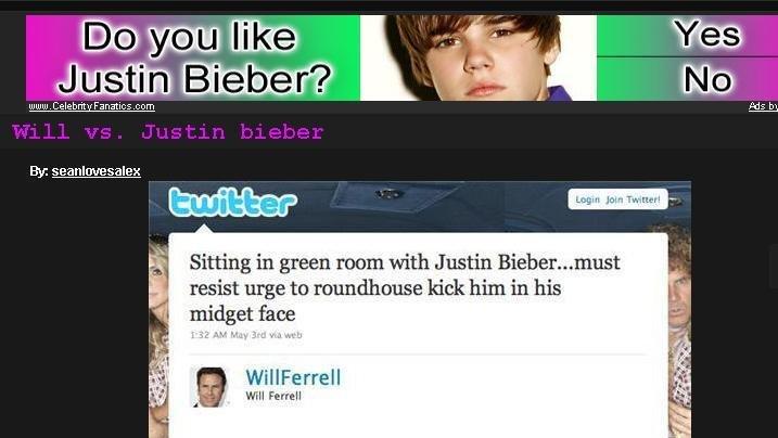 Does it look like it?. Ad fail. shutup. celebrat : . i: yom Ely: Sitting in green men: with Justin Bieber... resist urge tn '' matt! . kick I' ltry' in his gget I FUCKING HATE B