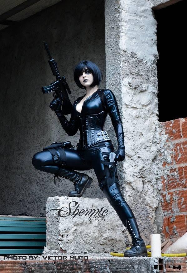 Domino cosplaygirl. source: . Domino cosplaygirl source: