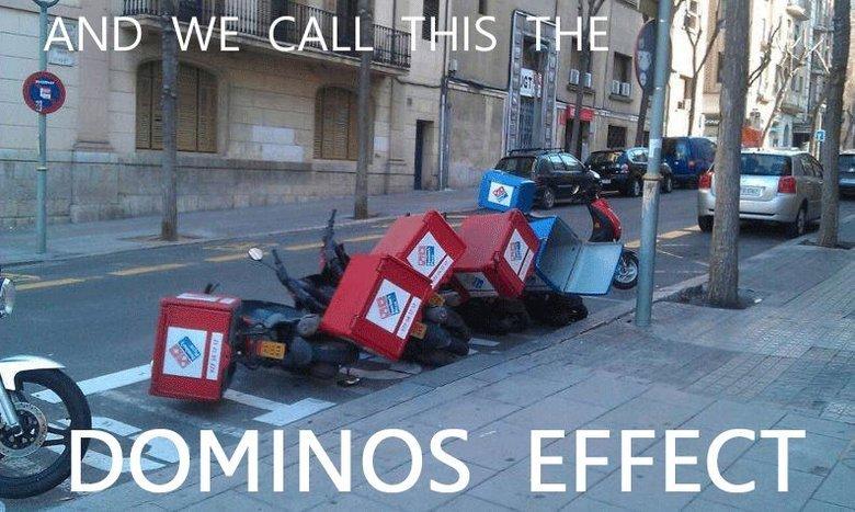 Domino's Effect. Domino's effect. tikals, Domino's Effect effect tikals