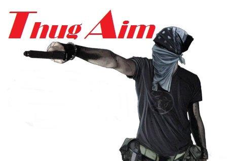 Don't look. You just lost... KILL SHOT! THAT'S A KILL SHOT!! thug aim