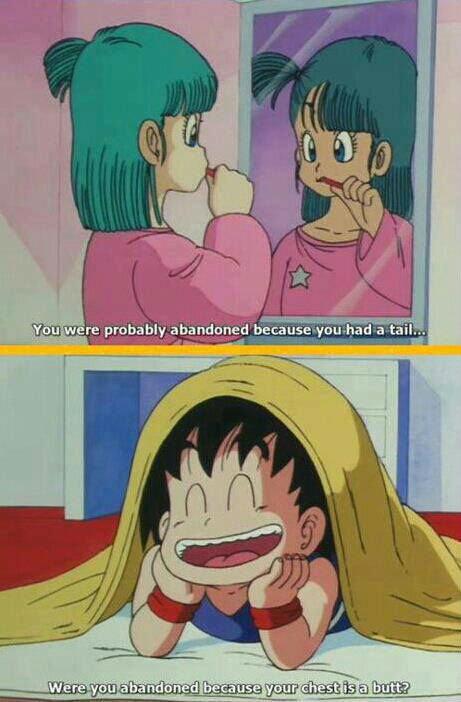 Dragon Ball. .. Young oblivious Goku is best Goku db dbz