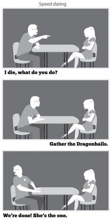 Dragonballs. . Speed dating dune! She': the one. Dragonballs Speed dating dune! She': the one