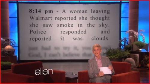 dumb bitch. hope you laughed. Mg than ellen clouds
