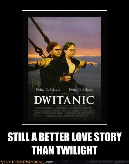 Dwitanic. Dwight K, Schrute. A BETTER WWI STORY THAN. bitch please dwight