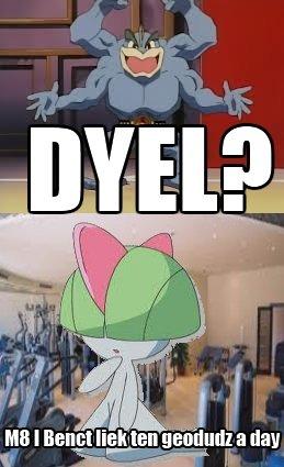 DYEL?. DO YOU EVEN LIFT?. Pokemon DYEL do You Even Lift Do you even lift machamp ralts