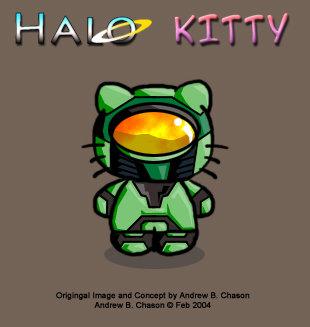Halo Kitty :D. stuff. qea' 1. epic. Halo kitty hello kitty