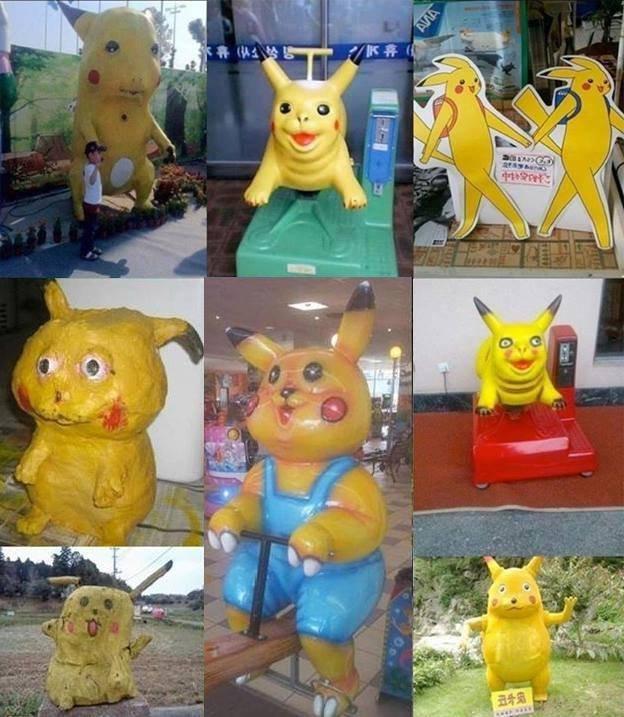 halp plz, pikachu stahp!. .. Hey kids, you wanna buy some rare candies??? PIKACHU bad Botox