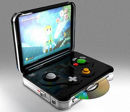 Handheld Gamecube. . Handheld Gamecube
