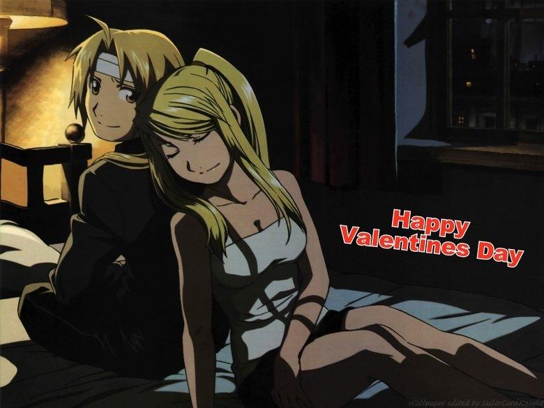 Happy Valentines Day. . Fmab