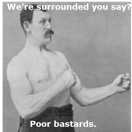 Hard Men. Hard Men.. We' re tobygrounded you sary'? Poor bastards.. HFW Hard Men
