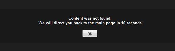 "Hate it when this happens.... NNNOOOOOOOOOOOOOOOOOOOOOOOOOO not again!!!. Content wee net found. We will direct you back to the main page in. >Say that it's a repost >3 mins later, ""OP has replied to your comment #1 at 'Unfunny repost'"" >Content not found FFFFFFUUUUUUUUUU morbid redirect"