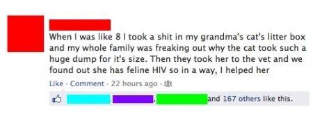 He helped. .. Feline HIV Feline human immunodeficiency virus FELINE HUMAN IT SHOULD BE CALLED FIV He helped Feline HIV human immunodeficiency virus FELINE HUMAN IT SHOULD BE CALLED FIV
