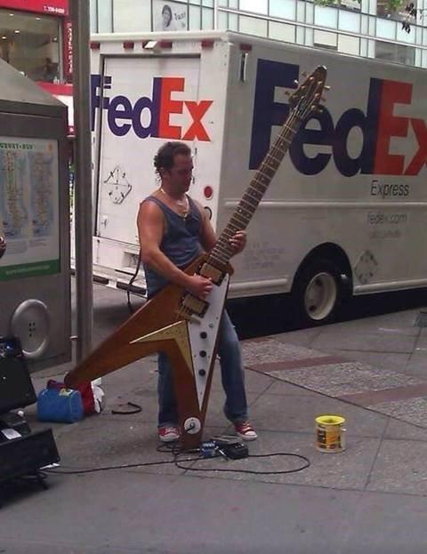 he is a huge guitarero. . he is a huge guitarero