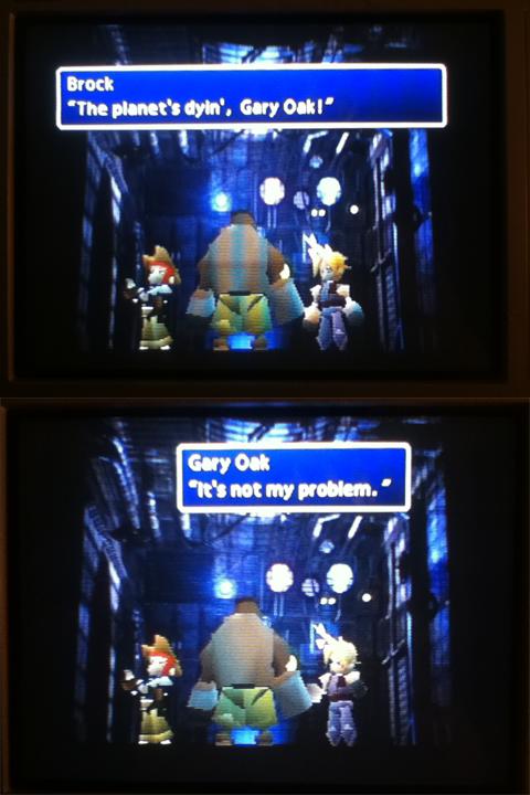 He just don.... Give a damn.. planet gary oak