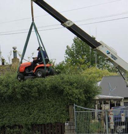 Hedge trimming like a man. . Hedge trimming like a man