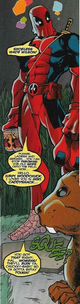 Hello Woodchuck!. are deadpool comics still a fad?. Deadpool