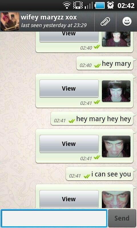 Hey, hey Mary. hey, hey mary.. hey mary yo