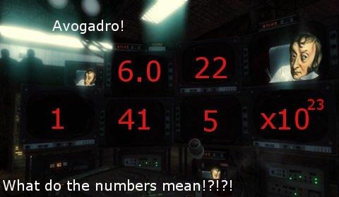 High school chemistry in a nutshell. . Avogadro! tlt alt What do the numbers mean!?!?! fiesta Es mi pantalones