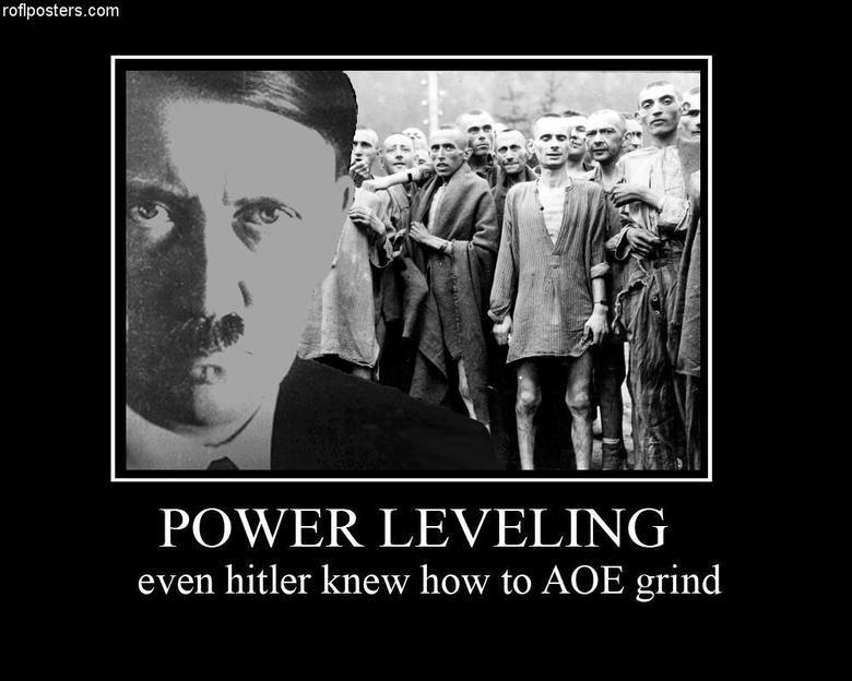 Hitler LOL. MMORPG master..... Hah xD Hitler AOE