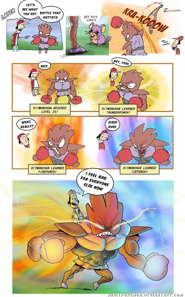 Hitmonchampion. Not OC. tritty HURT Pokemon