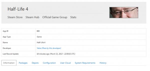 HL4 CONFIRMED. h-hi. Steam Stare Ateam Hub official Game Group Stats Ntt Ell up Type Developer by thus . 1 last Emmi Uerthe til minutesago , yr, ', Packages mgr halflife
