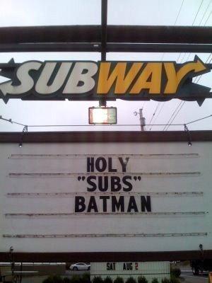 Holy Sub Sammich Batman. . Holy Sub Sammich Batman