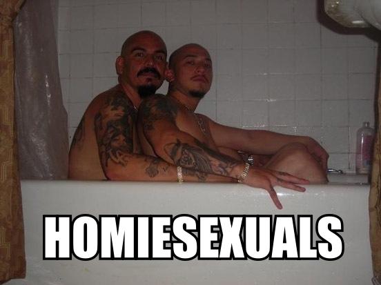 HomieSexuals. www.facebook.com/MCDUANEsWorLd. iiss gangster