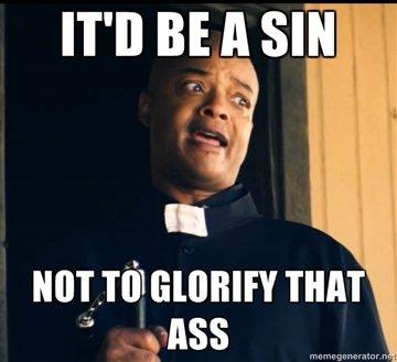 Horny Black Priest. meh.... Ttll BE ll Slit nun priest horny bla