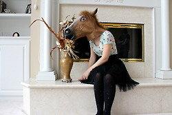 horse head mask. horse head mask from . horse head mask