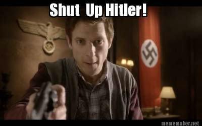 How i feel in history class. Season six episode 8. Hitler