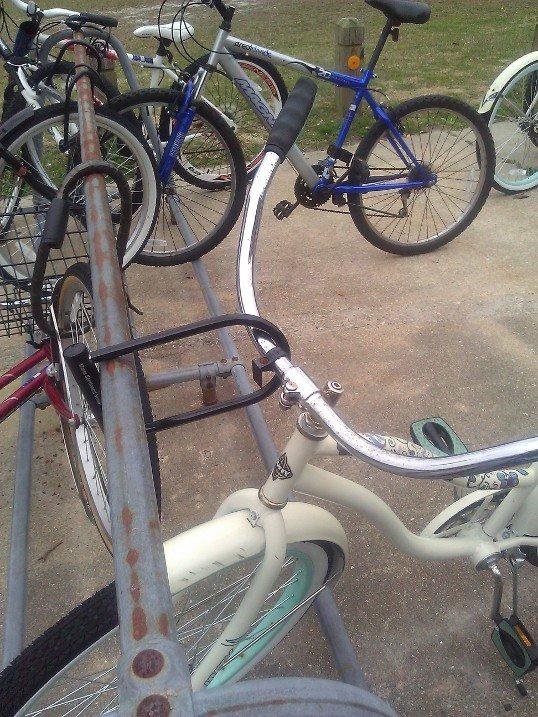 how i lock my bike up. . how i lock my bike up