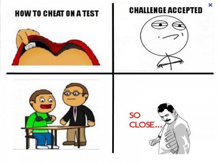 How to cheat. dddddddd.. Boys face when girl sitting next to him tries this cheat gf