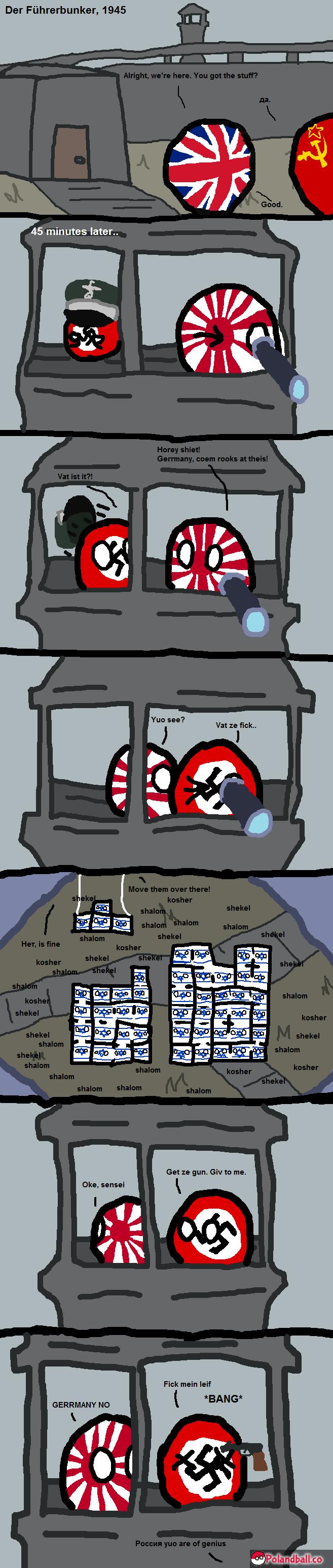 How World War II was really won. Source: . 51 my ; my my Polandball funny