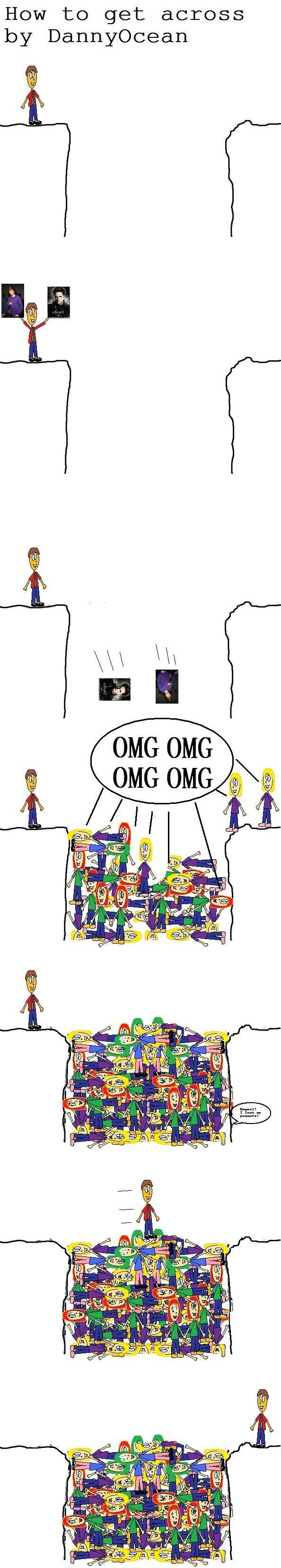 How to get across. I made a sequel!<br /> /funny_pictures/453025/How+to+get+acr.... How to get across toy' Dannyocean. NOOO MA PEANUT!!! comic fun hot to get acros