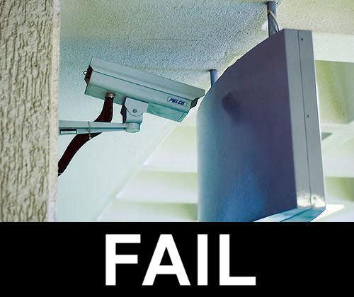 how dumb!. . Security