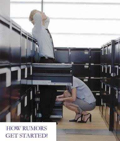 How rumors are started. Haha.. Repost. rumors