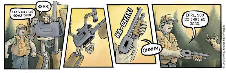 Hunting Transformer. Hunters gun transformed. hunter gun transformers