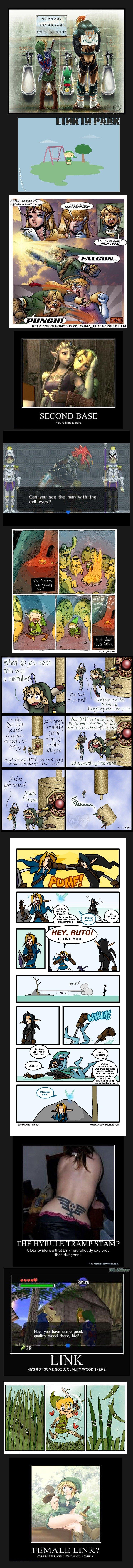 Legend of Zelda comp. . Zelda link Ganon