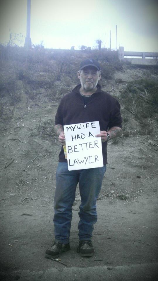 Legit Hobo. He lives in Colorado.. no looky