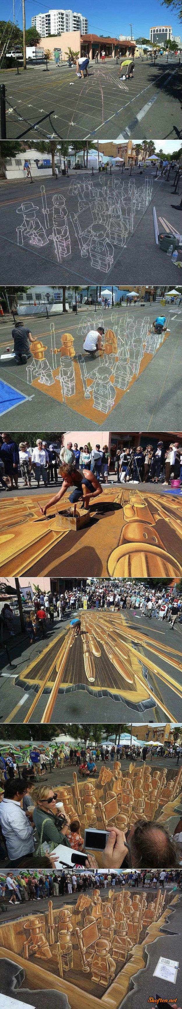 lego sidewalk drawing. .. Lego sidwalk art, you say? Closeenough.jpg lego sidewalk drawing Lego sidwalk art you say? Closeenough jpg